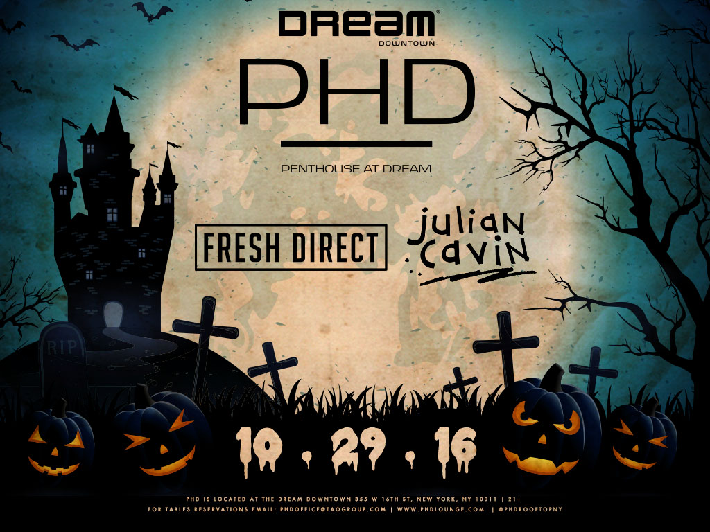 Halloween at Dream Downtown PHD - Tickets - Dream Downtown, New ...
