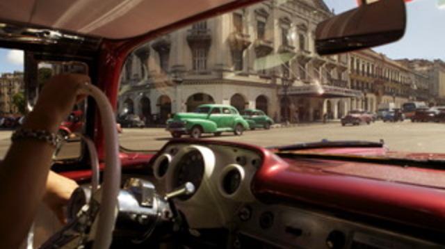 9 Forbidden Cuba_scene_Gil scouts Havana in car.jpg