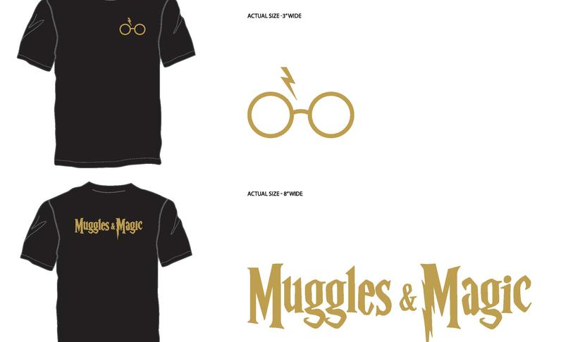 Muggles & Magic T-Shirt