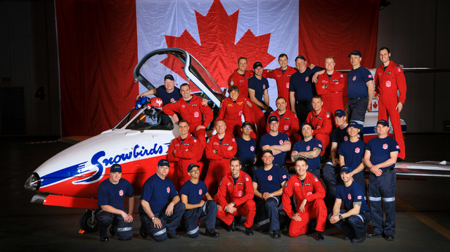 CF Snowbirds Demo Team Group Picture by HeathMoffatt.jpg