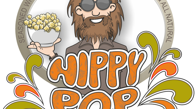 Hippy Pop Orange and White, wht background - Official Logo.jpg