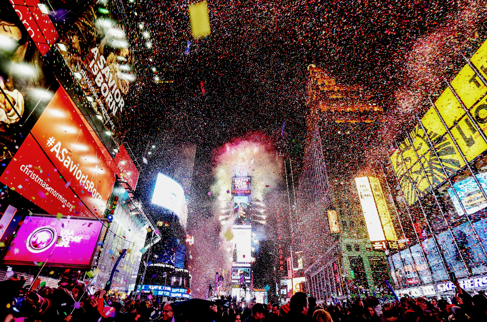 New Year's Eve Times Square Party At Ribbon Nightclub ...