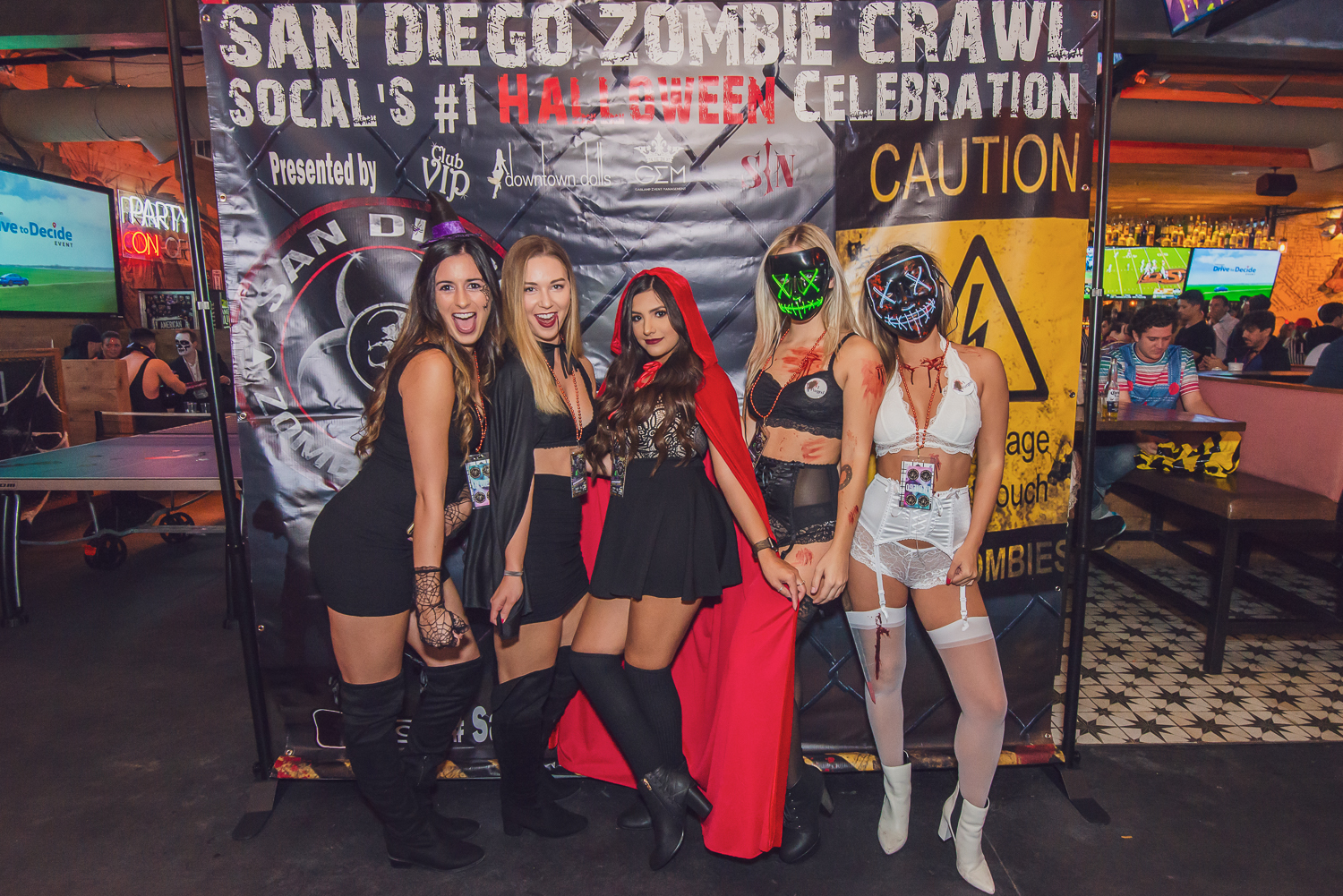 San Diego Zombie Crawl Meets Day of the Dead