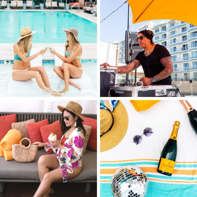 Saturday: Clicquot H2O Pool Party Ticket for (1) One