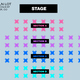 SECTION C - 9:00PM SHOW - Table for 4x