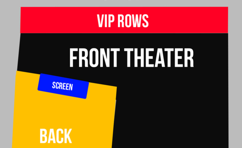 FRONT THEATER - 10:30pm Show - GROUP TICKET - (4x) Total Attendees Per Car ($41 pp)