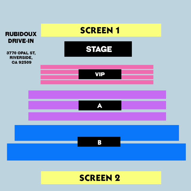 6:30PM SHOW - SECTION B - GROUP TICKET - (5x) Total Attendees Per Car ($26/pp)
