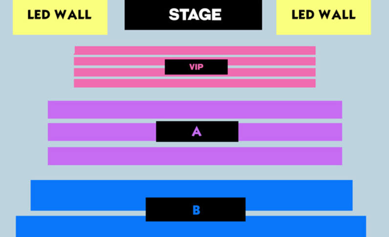 9:30PM SHOW - FRONT 6X ROWS VIP - (4x) Total Attendees Per Car ($81 pp)