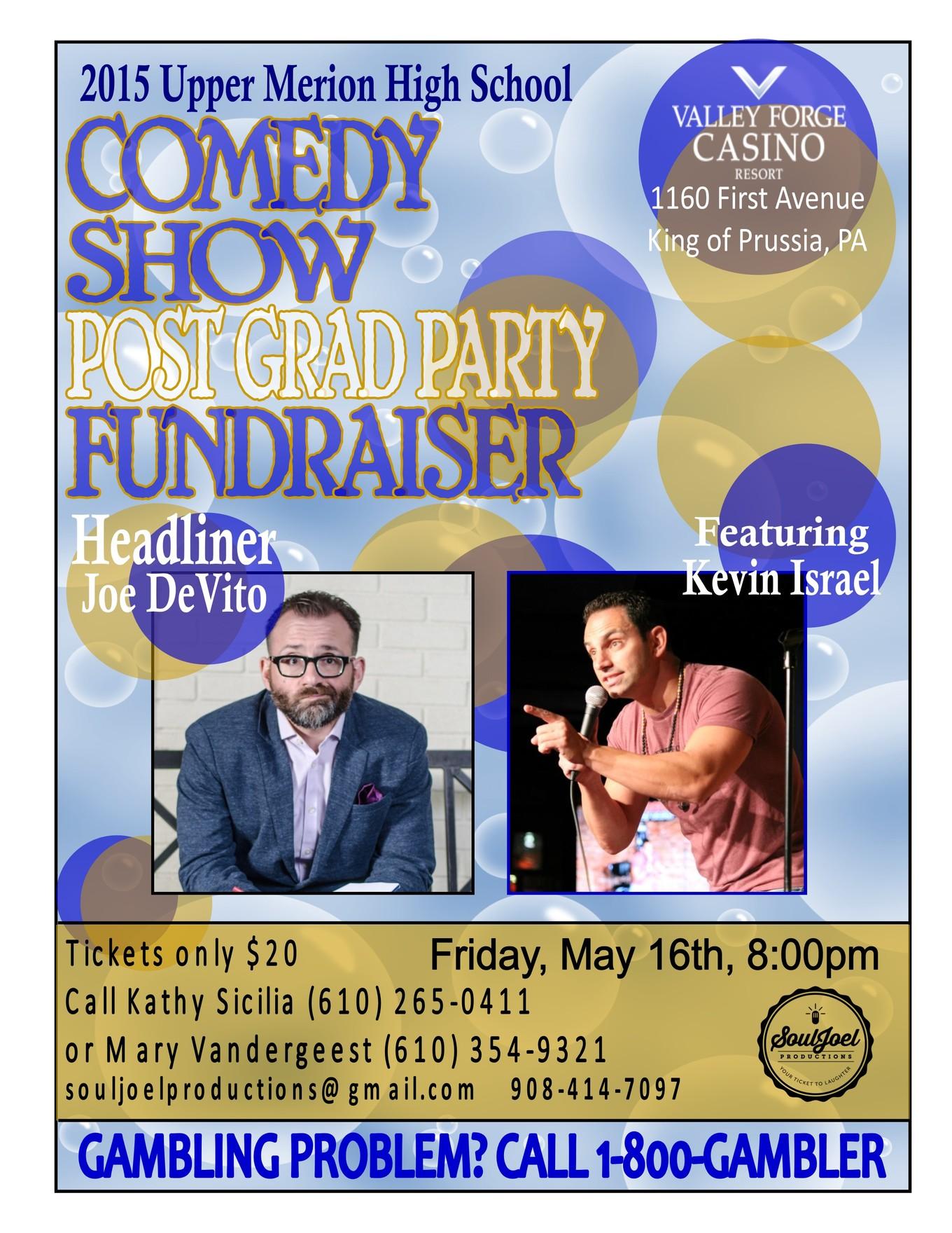 VF Casino: Upper Merion Post Grad Party Fundraiser - Tickets
