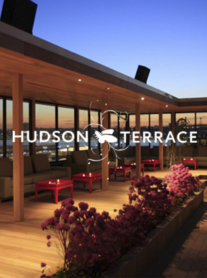 Hudson terrace happy hour kick off tickets hudson for Terrace on the hudson