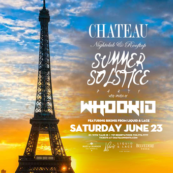 Summer Solstice Party with DJ Whookid