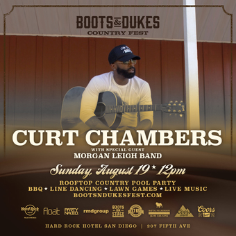 Boots & Dukes Country Fest w/ Curt Chambers & Morgan Leigh Band
