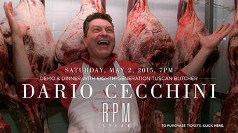 Dinner with Dario Cecchini & RPM Steak