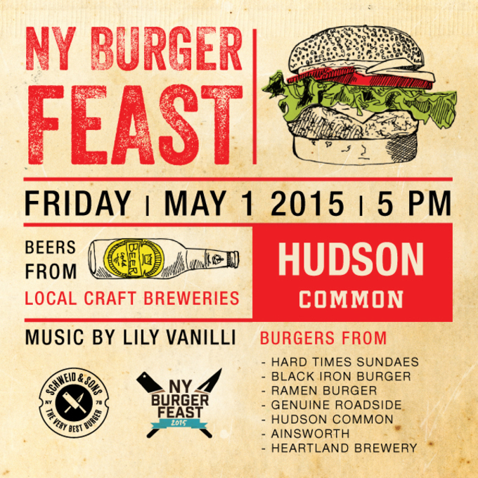 2nd Annual NY Burger Feast