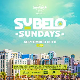 SUBELO Sundays Latin Pool Party