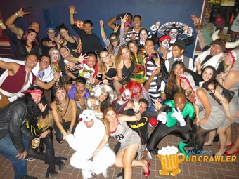 8th Annual Gaslamp Halloween Pub Crawl