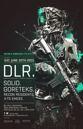Recon & Dnbradio present DLR (UK)