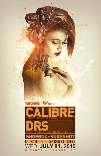 Recon & Reload present CALIBRE & MC DRS