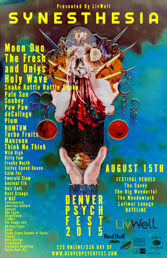 Synesthesia :: Denver Psych Fest 2015 Presented by LivWell