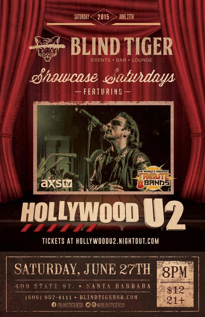Hollywood U2 LIVE