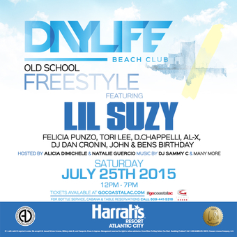 Daylife Beach Club Old School Freestyle Party