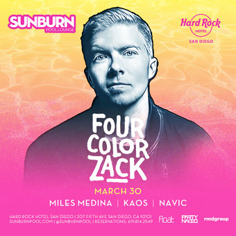 SUNBURN Season 4 Opening Day feat. Four Color Zack