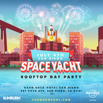Space Yacht Fourth of July
