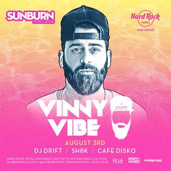 SUNBURN feat. Vinny Vibe