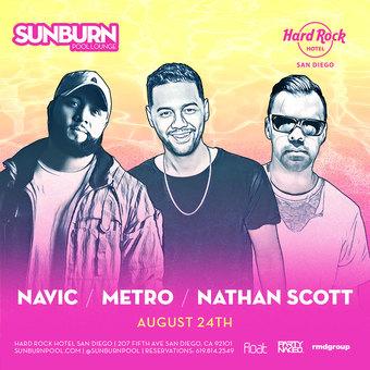 SUNBURN feat. Metro, Navic & Nathan Scott