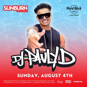 SUNBURN feat. DJ Pauly D