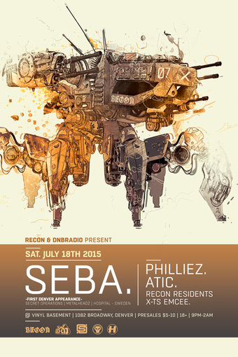 Recon & DnbRadio present SEBA