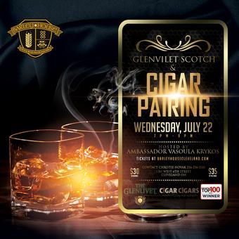 Glenlivet Scotch and Cigar Pairing