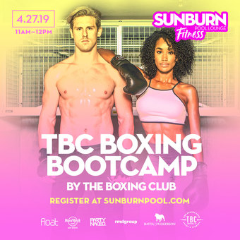 SUNBURN Fitness with The Boxing Club