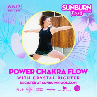 SUNBURN Fitness Power Chakra Flow