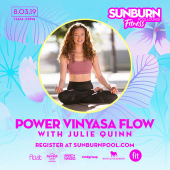 Power Vinyasa Flow with FIT Instructor Julie Quinn