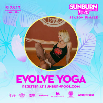 SUNBURN Fitness feat Evolve Yoga