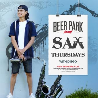 Sax Thursdays with Diego