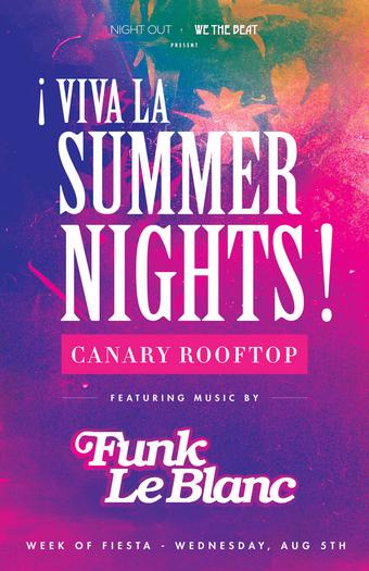 ¡Viva La Summer Nights!