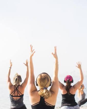 Silent Disco Yoga 2019