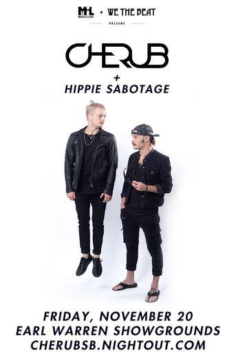 Cherub with Hippie Sabotage (11/20)