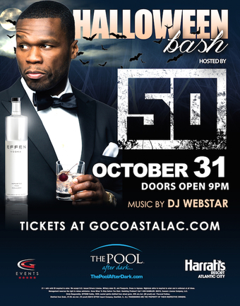 Halloween Hosted by 50 Cent @ The Pool After Dark
