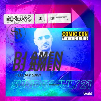 Comic Con Weekend w/ DJ Amen
