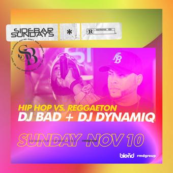 Side Bar Sundays: DJ Bad + DJ Dynamiq