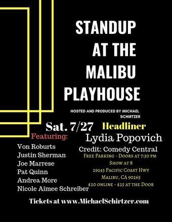 Standup @ The Malibu Playhouse