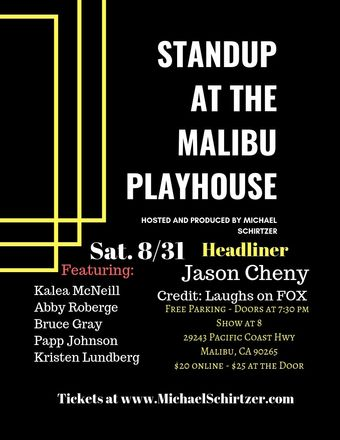Standup @ The Malibu Playhouse