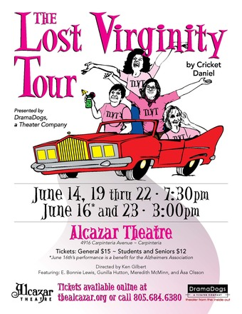 DramaDogs presents The Lost Virginity Tour by Cricket Daniel