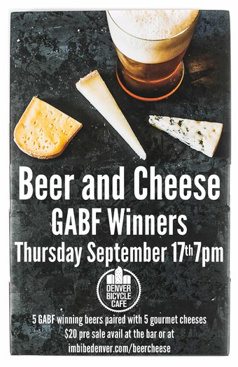 Beer and Cheese With GABF Winners