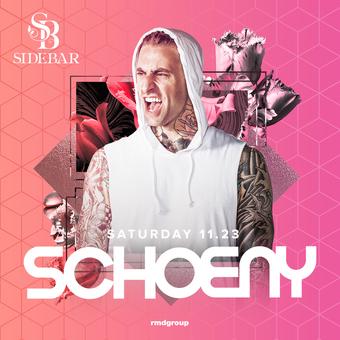 Side Bar Saturdays: DJ Schoeny