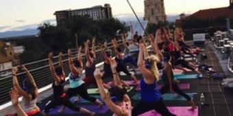 Sound Off Yoga @ The Metlo w/Newsha Rostampour