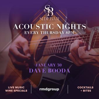 Acoustic Thursdays: Dave Booda